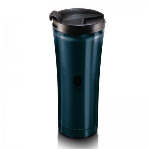 Berlinger Haus BH-6411 Θερμός Vacuum - Παγούρι Καφέ από ανοξείδωτο ατσάλι 0.5L Metallic Line Aquamarine Edition