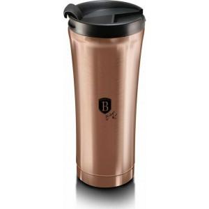 Berlinger Haus BH-6488 Θερμός Vacuum - Παγούρι Καφέ από ανοξείδωτο ατσάλι 0.5L Metallic Line Rose Gold Edition