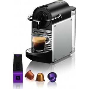 Delonghi Καφετιέρα Espresso Με κάψουλα EN124.S Pixie