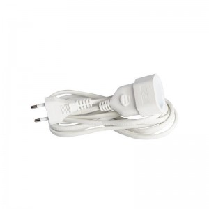 Eurolamp Προέκταση Γερμανικών Προδιαγραφών 3m 2X0.75mm 147-13025