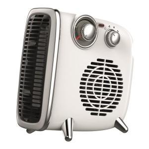 Eurolamp 300-41201 Αερόθερμο Δωματίου Vintage 1800W Λευκό