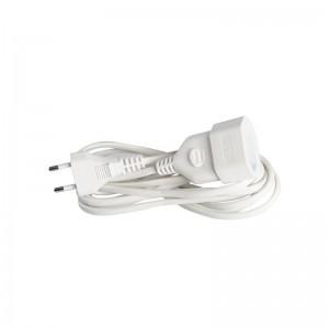 Eurolamp Προέκταση Πλακέ γερμανικών προδιαγραφών 3m 2x0.75mm 147-13025