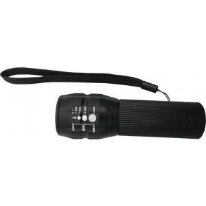Eurolamp 145-24507 LED Φακός Μπαταρίας Αλουμινίου Με Zoom Eurolamp