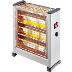 Eurolamp Θερμάστρα χαλαζία 2800W με θερμοστάτη 147-29155