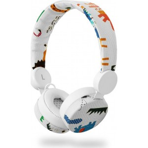 NEDIS On-ear ενσύρματα ακουστικά N-imal Elephant White HPWD4104WT