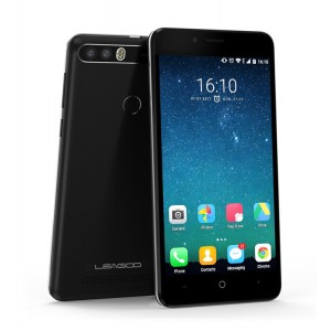 "LEAGOO Smartphone KIICAA Power, 5"" Quad Core, 2/16GB Black + Θήκη + Screen Protector"