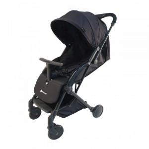 Kinderline STL-733.1-BLK Παιδικό καροτσάκι Μαύρο