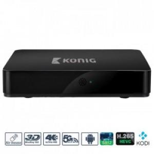 KONIG KN-4KASB Mini Android TV box, με υποστήριξη 4K και 3D
