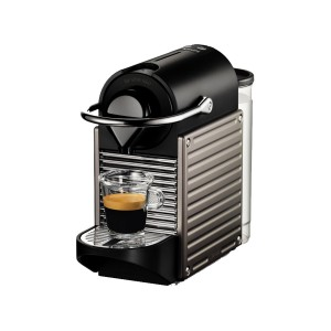 Krups XN304TS Pixie Μηχανή Nespresso + Δώρο κουπόνι αξίας 30€ για καφέδες