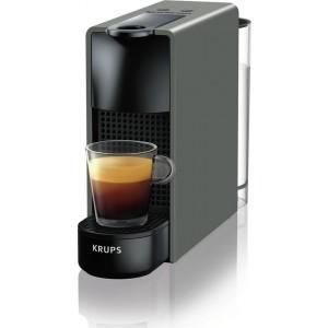 Krups Μηχανή Nespresso Essenza Mini Γκρί XN110ΒS & Δώρο κουπόνι αξίας 30€ για αγορα καφε