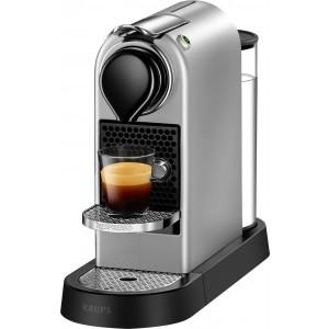 KRUPS Nespresso XN740BS Citiz Καφετιέρα Silver + Δώρο Κάψουλες αξίας 30 Ευρώ