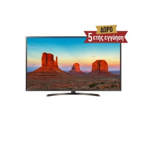 LG 50UK6470PLC Τηλεόραση Δορυφορική 4K Smart TV