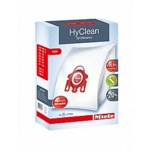 Miele FJM HyClean 3D Efficiency Σακούλες Σκούπας 4τμχ