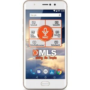 "MLS DX 5.5"" 4G Champagne Dual Camera Dual SIM"
