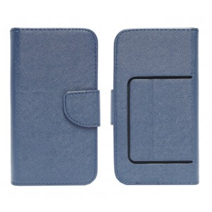 "Powertech Θήκη Flip Book Universal 4.8""-5.2"" Dark Blue MOB-0285"