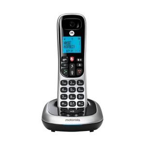 Motorola CD4001 Silver Ασύρματο Τηλέφωνο