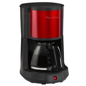 Moulinex FG370D Subito 4 Μηχανή Καφέ Φίλτρου Wine Red