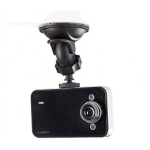 "Nedis Dash Cam 2.4"" HD 720p 60° Viewing Angle DCAM05BK"