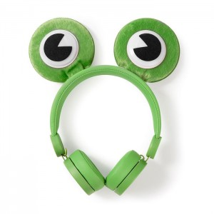 NEDIS On-ear ενσύρματα ακουστικά Animaticks Freddy Frog HPWD4000GN
