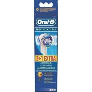 Oral B Precision Clean Ανταλλακτικές Κεφαλές 2+1 τεμ
