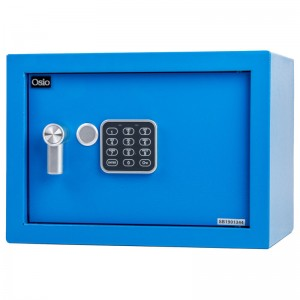 Osio OSB-2535BU Χρηματοκιβώτιο με ηλεκτρονική κλειδαριά 35 x 25 x 25 cm