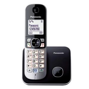 Panasonic Ασύρματο Τηλέφωνο KX-TG6811 Black