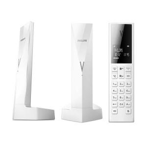 Philips Linea V M3501W/GRS White Ασύρματο Τηλέφωνο