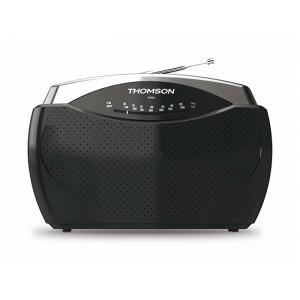 THOMSON Φορητό ραδιόφωνο RT222 FM/MW, μαύρο