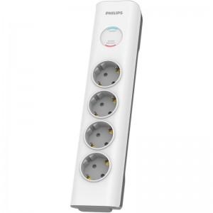 Philips SPN7040WA/GRS Πολύπριζο ασφαλείας 4 θέσεων