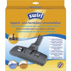 Swirl Πέλμα Σκούπας Duo Carpet & Hard Flooring Switch