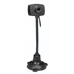 Web Camera TM-C011, 0.3MP, 30fps, Plug & Play, μαύρη