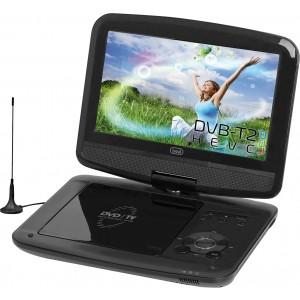 TREVI DVBX-1418 ΦΟΡΗΤΟ DVD PLAYER 9 inch ΚΑΙ TV TUNER DVB-T2