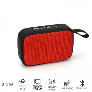 AKAI ABTS-MS89R Φορητό ηχείο Bluetooth με USB ΚΑΙ SD – 2.5W