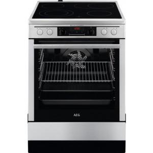 AEG Κεραμική Κουζίνα CCB6671APM με Πυρόλυση