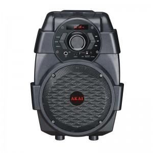 Akai ABTS-806 Φορητό ηχείο Bluetooth με USB, Aux-In και είσοδο μικροφώνου 10W