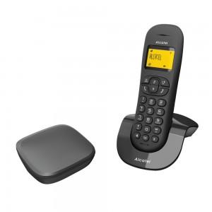 Alcatel C250 Invisibase Ασύρματο τηλέφωνο Μαύρο