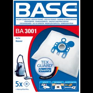 BASE Σακούλες Ηλεκτρικής Σκούπας BA 3001