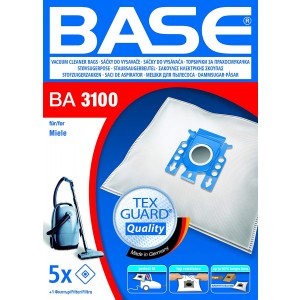 BASE Σακούλες Ηλεκτρικής Σκούπας BA 3100