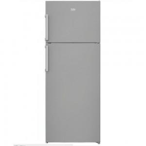 Beko Ψυγείο Δίπορτο NoFrost Inox A+ RDNE 510M21 X