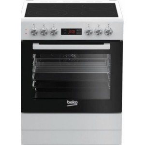 Beko Κεραμική Κουζίνα FSM 67320DWS 72lt A