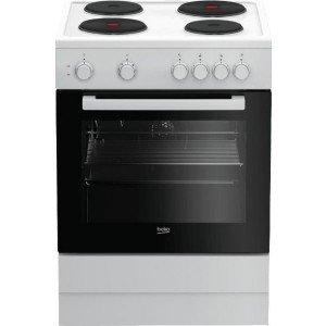 Beko FSM 66002 GW Κουζίνα Εμαγιέ Λευκή Α