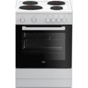Beko Ηλεκτρική Κουζίνα Λευκή FSS 66001GW