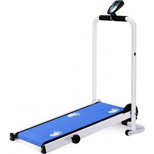 CleverPad 090023 Blue Φορητός Μαγνητικός Αναδιπλούμενος Διάδρομος Γυμναστικής