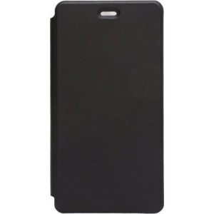 OEM Flip Wallet Case Black + Tempered Glass (Doogee X5 / X5 Pro)