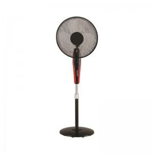 Eurolamp Ανεμιστήρας με Ορθοστάτη Μαύρο-Κόκκινο Φ40 60W 147-29063