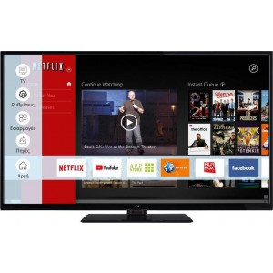 F-&U FL2D4903UH 4K ULTRA HD Smart TV 49 ιντσών