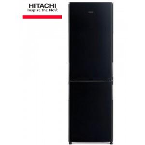 HITACHI R-BG410PRU6X GBK Ψυγειο/κτης Black Glass A++(-40%)