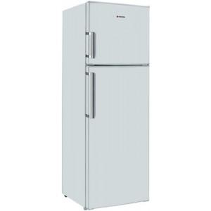 Hoover Δίπορτο Ψυγείο HVDS 6172 WH Λευκό Α+