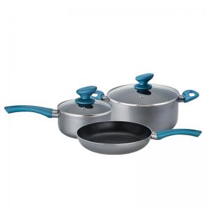 Izzy Σετ Μαγειρικά Σκεύη Aqua 5τμχ (222721)