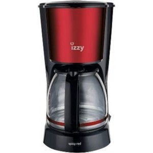 Izzy HB88024 Spicy Red Καφετιέρα Φίλτρου